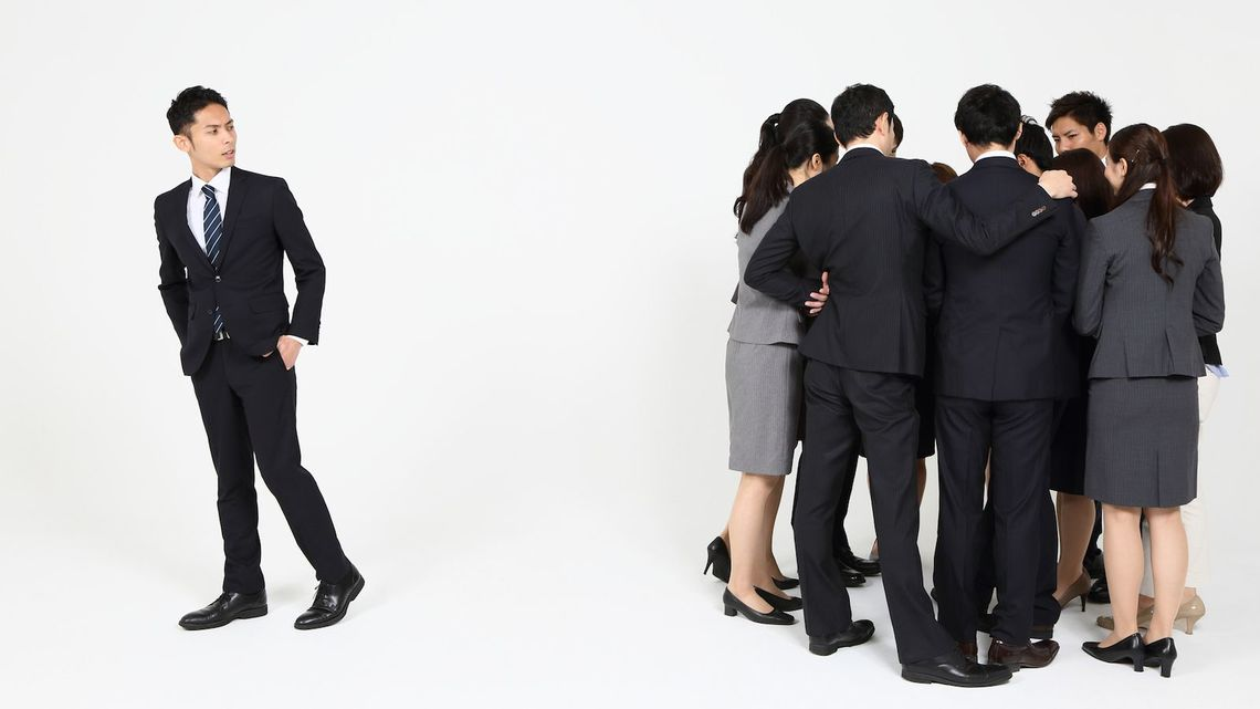 自分色が強い人ほど会社では嫌われ者